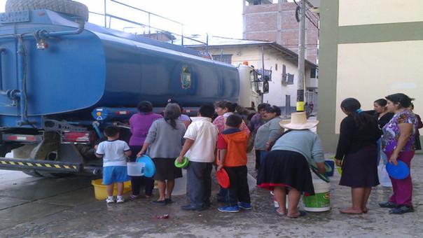 Corte de servicio de agua