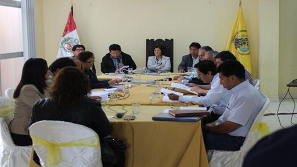 Sesión de Consejo de Huaral
