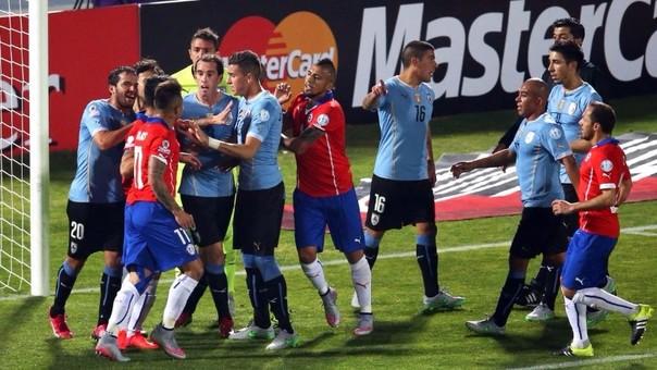 El Uruguay - Chile será sin duda uno de los partidos más atractivos de la segunda fecha doble de las Eliminatorias.