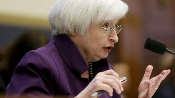 La presidenta de la Reserva Federal de EE.UU., Janet Yellen.