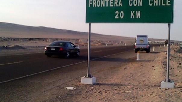 Frontera con Chile