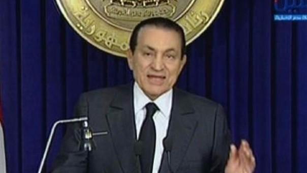 Nuevo juicio a Hosni Mubarak