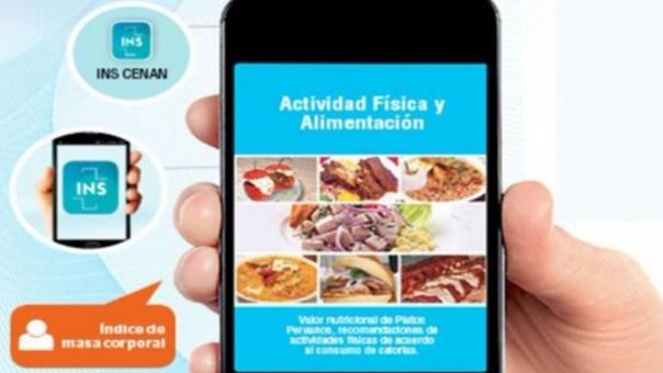 INS lanza app móvil que sugiere menú diario para bajar de peso
