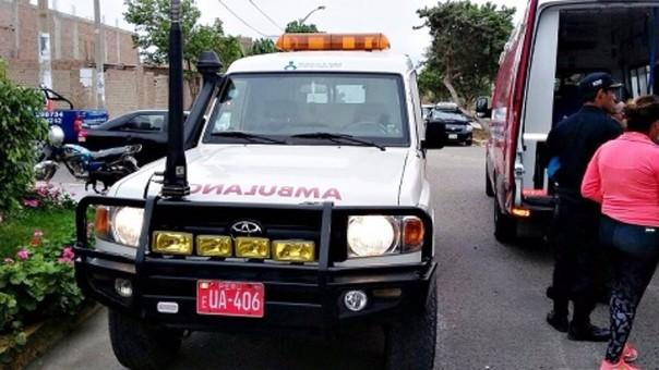 Ambulancia del Minsa atropella a motociclista