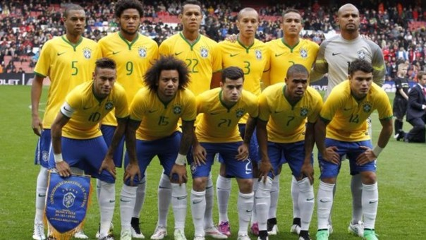 Selección de Brasil.