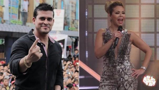 Christian Domínguez y Gisela Valcárcel