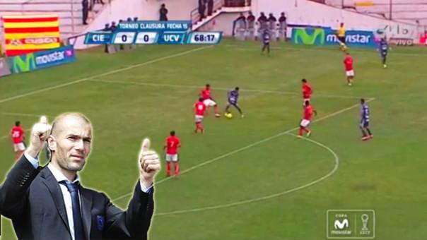 Golazo al estilo ZIdane en Perú dio la vuelta al mundo
