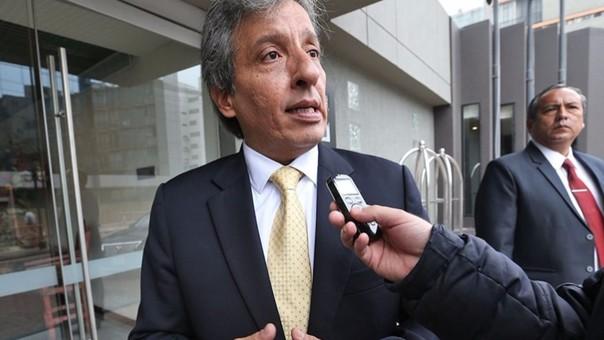 El ministro del Ambiente