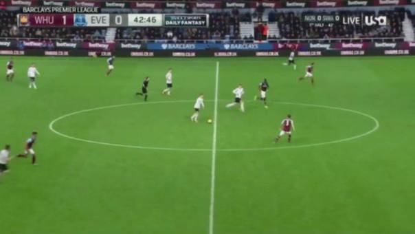 Gerard Deulofeu hizo un genila pase gol en Inglaterra