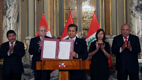 Jefe de Estado Ollanta Humala, promulgó la ley de creación del distrito de La Yarada-Los Palos en la provincia de Tacna, región Tacna.