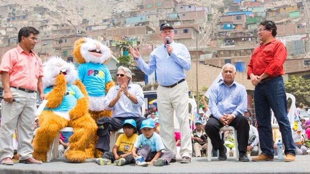 PPK visitó Huaycán