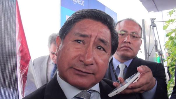 Modesto Julca, presidente de la Comisión de Economía del Congreso