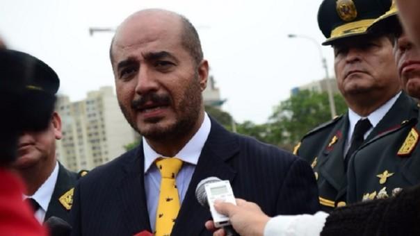 Ministro del Interior, José Luis Pérez Guadalupe