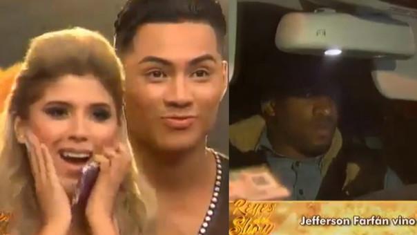 Yahaira Plasencia: Jefferson Farfán fue a recogerla en Reyes del Show