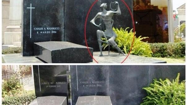 Escultura robada