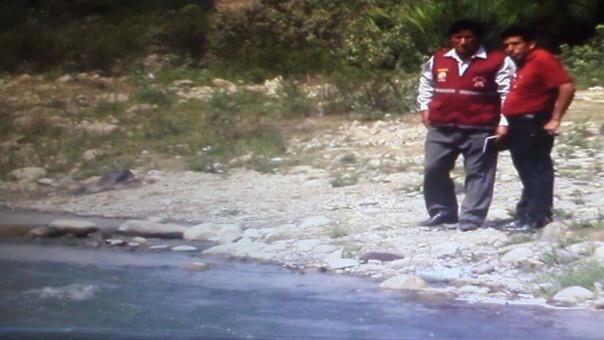 Inspeccionan rio Chancay
