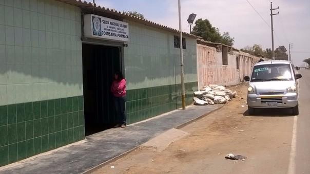 Comisaría de Pomalca está atento a violencia del sector construcción civil.