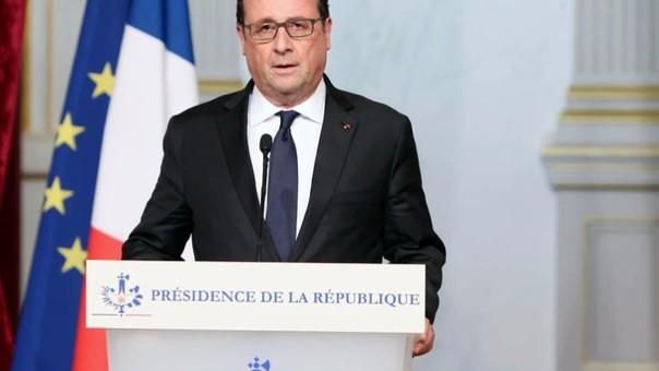 El mandatario francés
