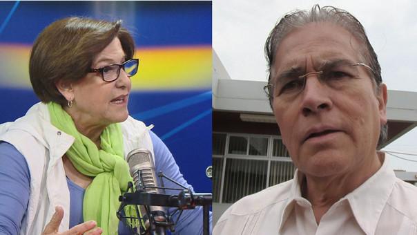 Susana Villarán - Vladimiro Huaroc