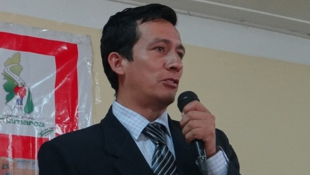 Yone Asenjo, director de Ugel de Cajamarca