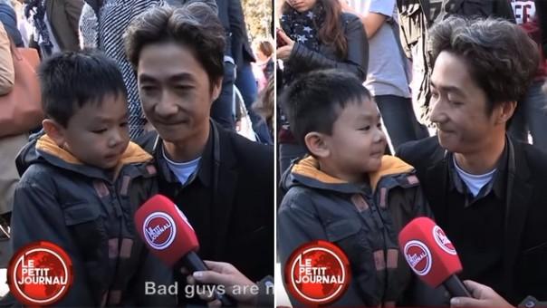 YouTube: conmovedor diálogo entre padre e hijo tras los atentados en París