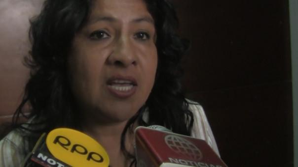 Liliana Barrantes dice que seguirá fiscalizando la gestión de David Cornejo Chinguel.