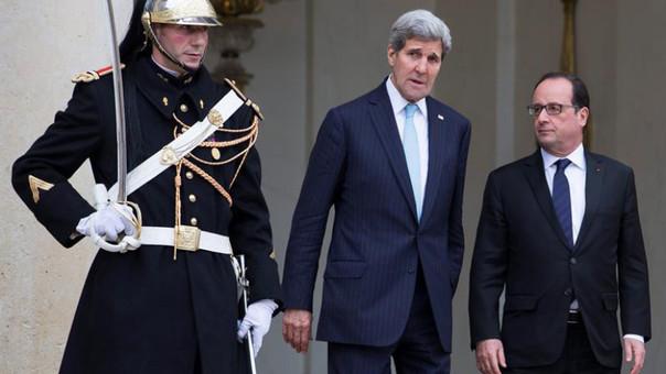 Kerry y Hollande