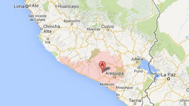 sismo Arequipa