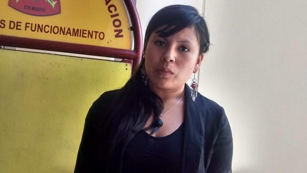 Hija del asesinado exconsejero regional, Ezequiel Nolasco Campos.
