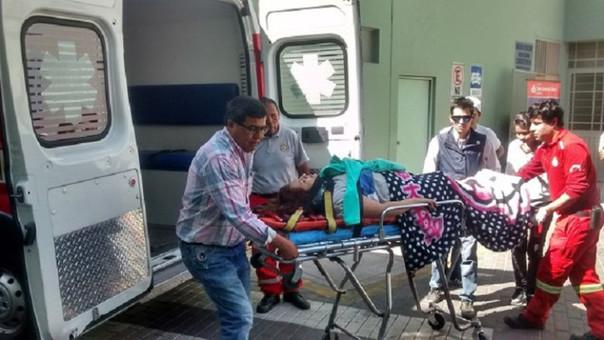 Accidente heridos