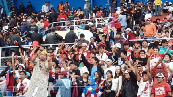 Barra de UTC de Cajamarca