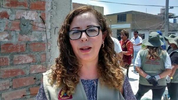 gerente de Gestión Ambiental y Salud Pública de la Municipalidad Provincial del Santa Rosa María Bartra Barriga.