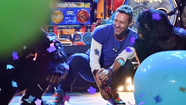 Coldplay: banda estrenó tema durante los AMAs