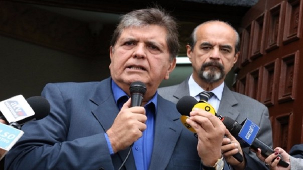 Alan García y Mauricio Mulder