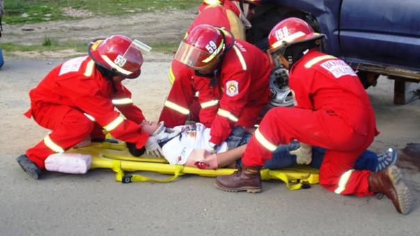 Acicdente de tránsito en Cajamarca
