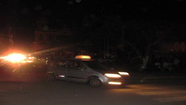 calles sin luz