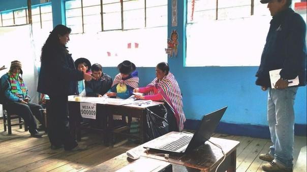 onpe se instal el de mesas para las elecciones municipales