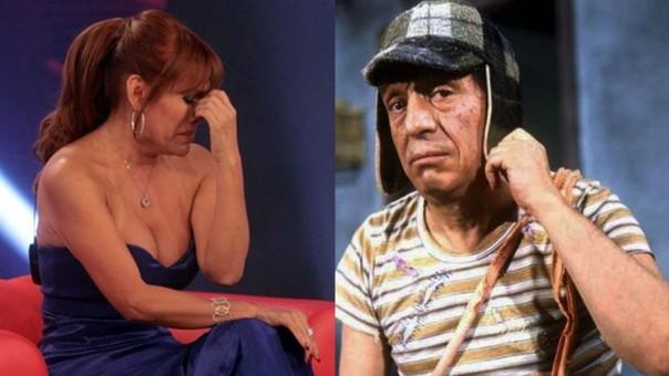 Magaly Medina vs. El Chavo
