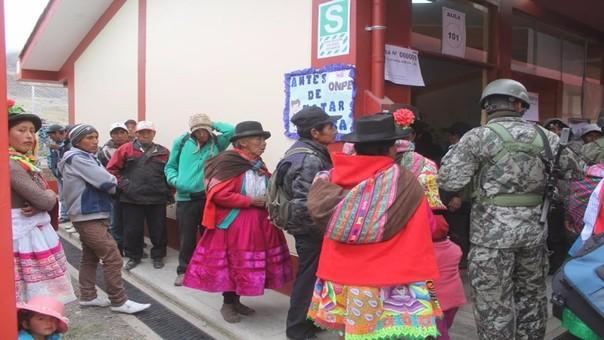 Elecciones en Uchuraccay