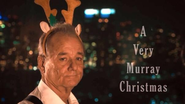 Bill Murray estrena especial navideño en Netflix