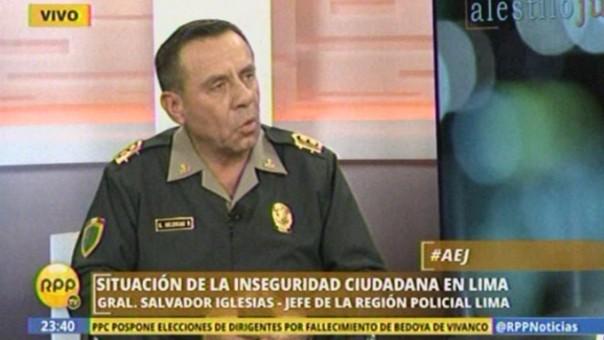 General Salvador Iglesias