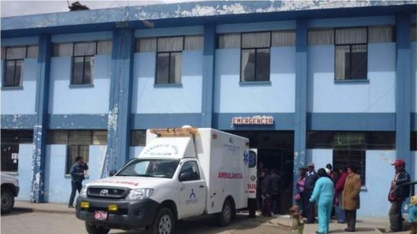 Niña de cinco meses falleció por bloque de carretera en Huayllay