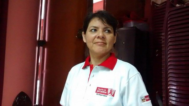 La coordinadora de Estrategia Sanitaria del VIH Sida del Hospital La Caleta, Liliana Diestra Pastor.