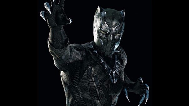 Chadwick Boseman interpreta a Black Panther.