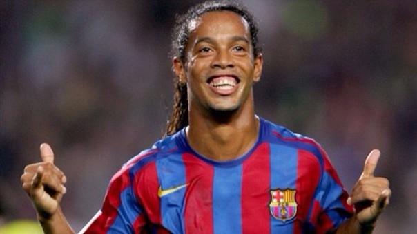 Ronaldinho es la sonrisa del fútbol