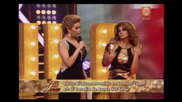 Vania Bludau fue parte del el 'Desafío' de 'Reyes del Show'