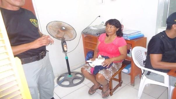 Mujer fue detenida por los agentes del Inpe