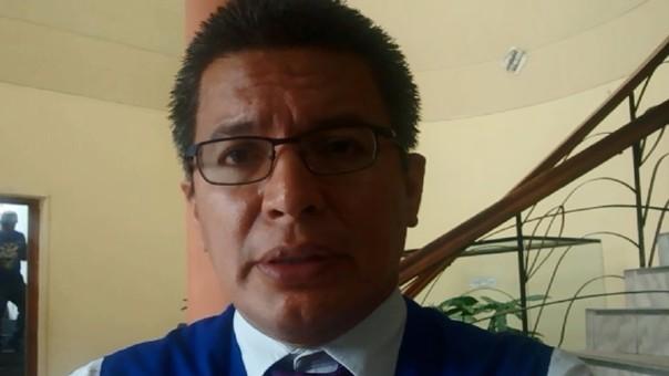 Director de la Defensoría del Pueblo de Piura, Cesar Orrego