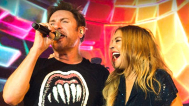 Duran Duran y Lindsay Lohan