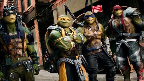 Las tortugas ninja: mira el tráiler de la secuela